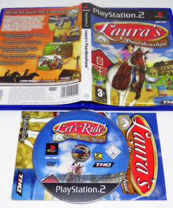 Let's Ride!: Silver Buckle Stables NL PS2