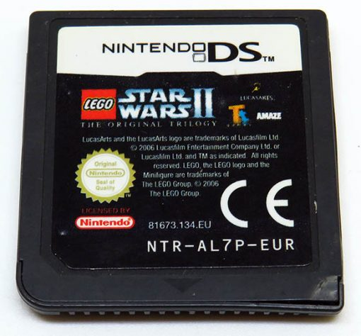 Lego Star Wars II: The Original Trilogy CART NDS
