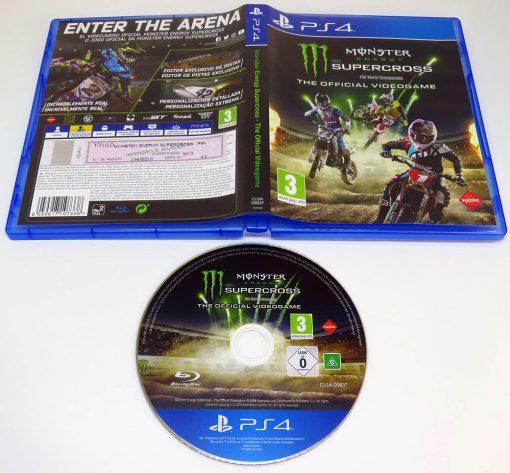 Monster Energy Supercross PS4