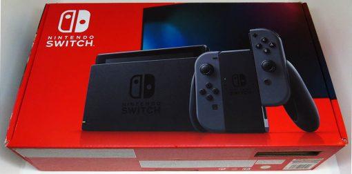 Consola Usada Nintendo Switch Cinzenta