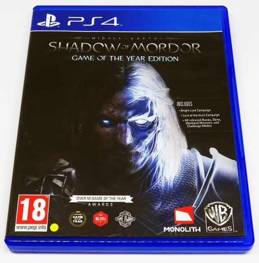 Middle-Earth: Shadow of Mordor - Game of the Year Edition PS4