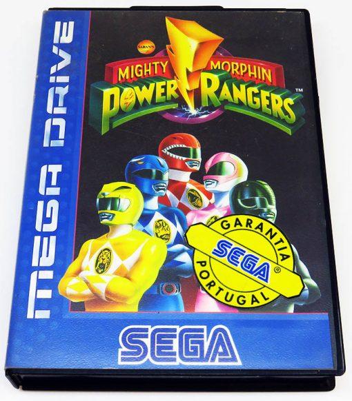 Mighty Morphin Power Rangers MEGA DRIVE