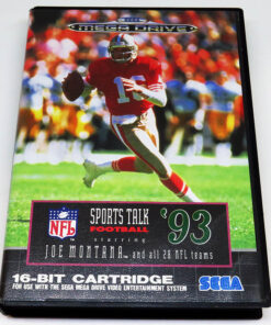NFL Sports Talk Football 93 MEGA DRIVE