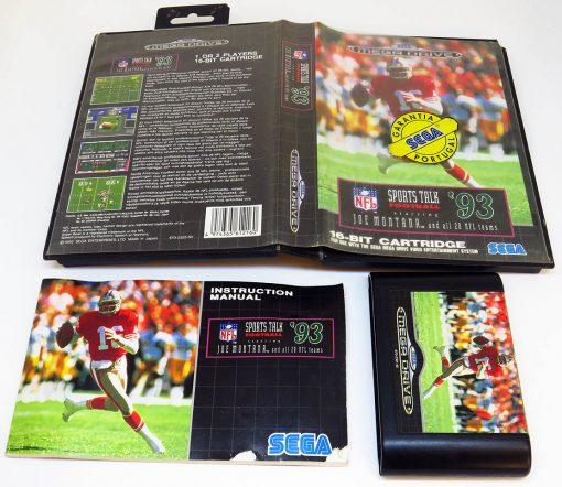 NFL Sports Talk Football '93 MEGA DRIVE