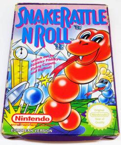 Snake Rattle n' Roll NES