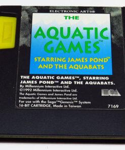 Aquatic Games starring James Pond CART MEGA DRIVE