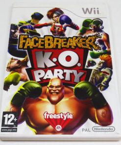Facebreaker KO Party WII