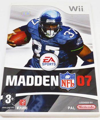 Madden NFL 07 WII