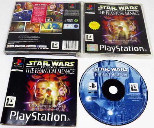 Star Wars Episode I: The Phantom Menace PS1