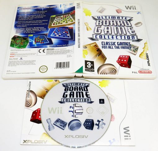 Ultimate Board Game Collection WII