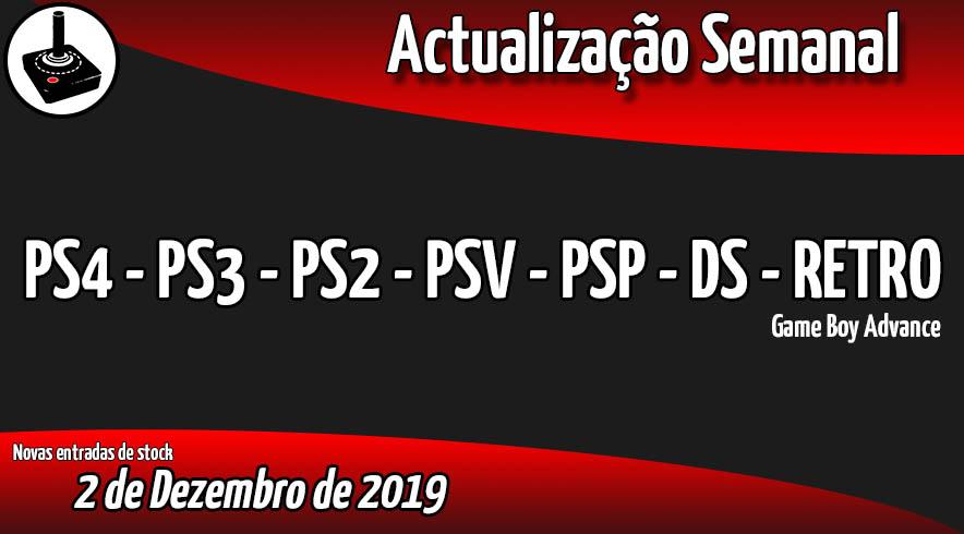 Jogos Usados PS4 - PS3 - PS2 - PSV - PSP - DS - RETRO