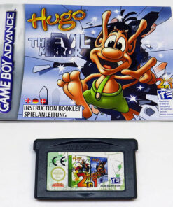 Hugo: Bukkazoom + Hugo: The Evil Mirror CART GAME BOY ADVANCE