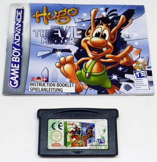 Hugo: Bukkazoom + Hugo: The Evil Mirror CART GAME BOY ADVANCE