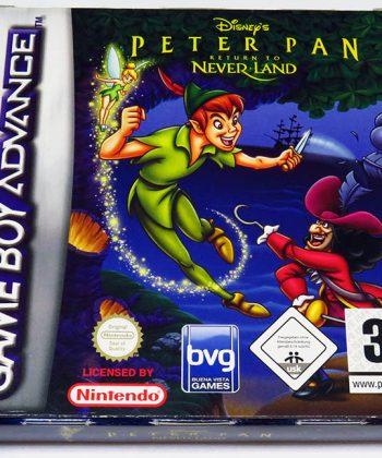 Peter Pan: Return to Never Land GAME BOY ADVANCE