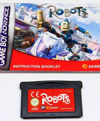 Robots CART GAME BOY ADVANCE