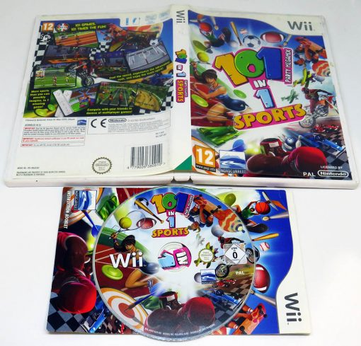 101-in-1 Party Megamix Sports WII