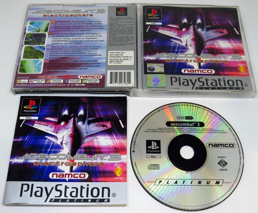 Ace Combat 3: Electrosphere PS1
