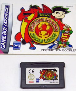 American Dragon Jake Long CART GAME BOY ADVANCE