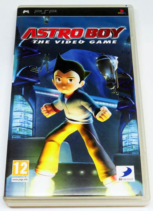 Astro Boy: The Video Game PSP