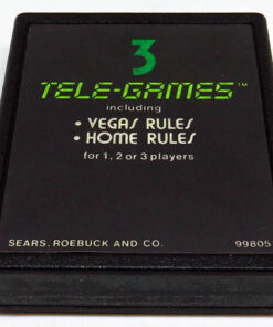 Blackjack CART ATARI 2600