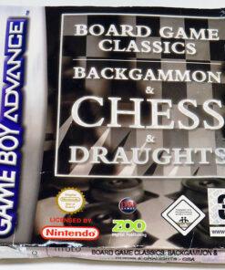 Board Game Classics GAME BOY ADVANCE