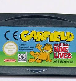 Garfield and his Nine Lives CART GAME BOY ADVANCE