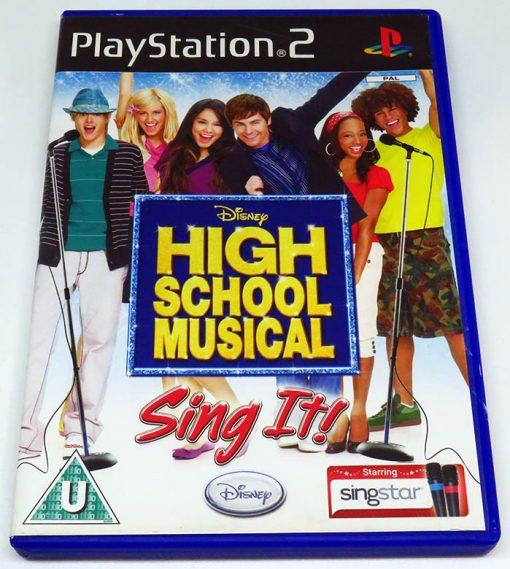 High School Musical: Sing It PS2