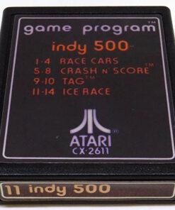 Indy 500 CART ATARI 2600