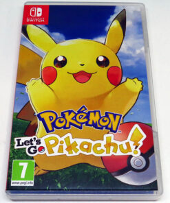 Pokémon: Let's Go Pikachu! SWITCH