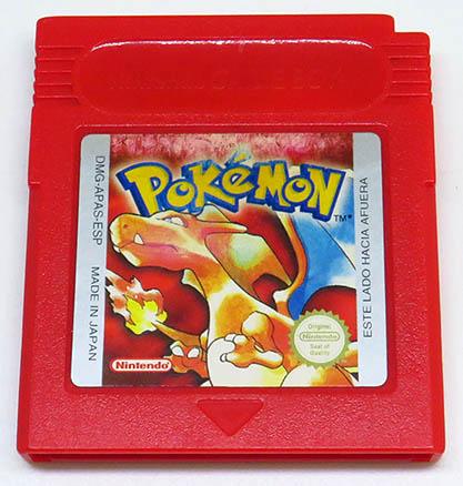 Pokémon Red Version ES CART GAME BOY