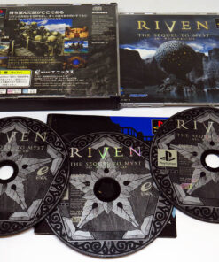 Riven: Sequel to Myst NTSC-J PS1