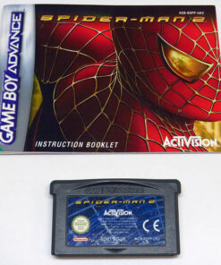 Spider-Man 2 CART GAME BOY ADVANCE