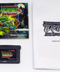 Teenage Mutant Ninja Turtles 2: Battle Nexus CART GAME BOY ADVANCE