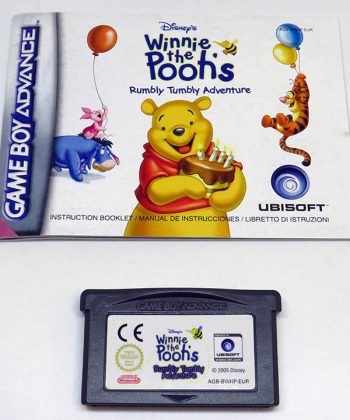 Winnie The Pooh's Rumble Tumbly Adventure CART GAME BOY ADVANCE