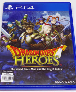 Dragon Quest Heroes: The World Tree's Woe and the Blight Below AS PS4