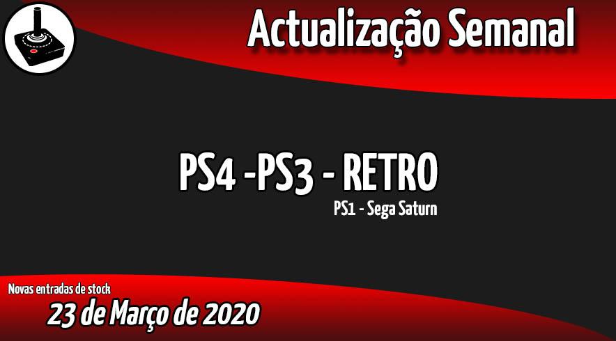 Jogos Usados PS4 - PS3 - RETRO
