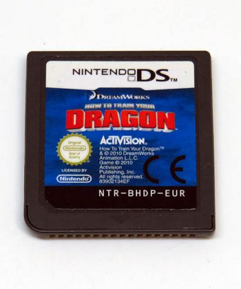 How to Train Your Dragon CART NDS