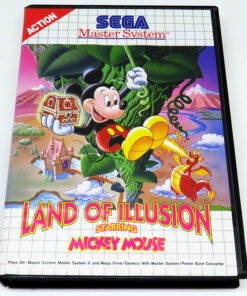 Land of Illusion starring Mickey Mouse MASTER SYSTEM