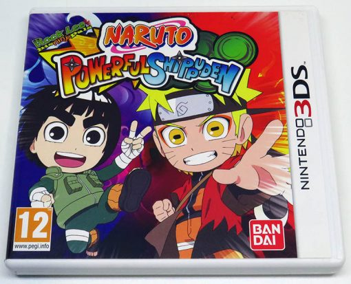 Naruto Powerful Shippuden 3DS