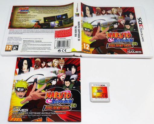 Naruto Shippuden 3D: The New Era 3DS