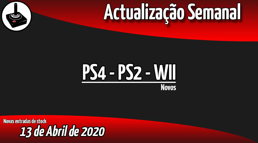 Jogos PS4 - PS2 - WII
