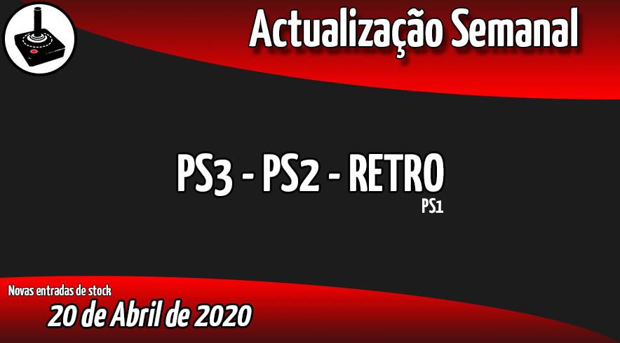Jogos Usados PS3 - PS2 - RETRO