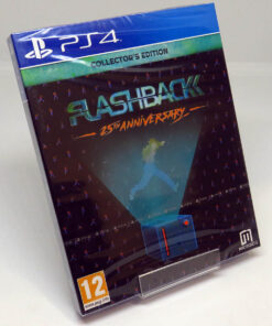 Flashback: 25th Anniveresary - Collector's Edition PS4