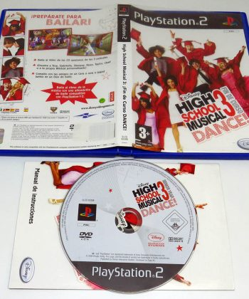 High School Musical 3: Fin de Curso Dance ES PS2