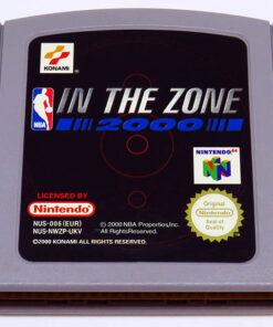 NBA In The Zone 2000 CART N64