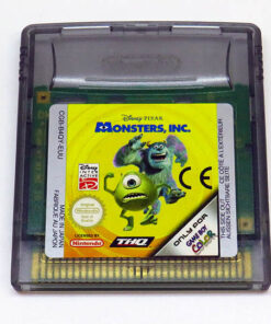 Disney Pixar Monsters, Inc CART GAME BOY COLOR