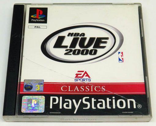 NBA Live 2000 PS1