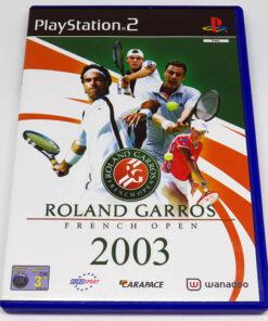 Roland Garros 2003 PS2