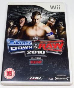 WWE Smackdown vs Raw 2010 WII