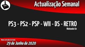 Jogos Usados PS3 - PS2 - PSP - WII - DS - RETRO